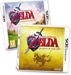 The Legend Of Zelda Ocarina Of Time 3d Juego 3ds