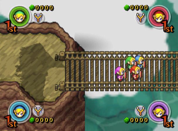 The Legend Of Zelda Four Swords Adventures Juego Gc Analisis