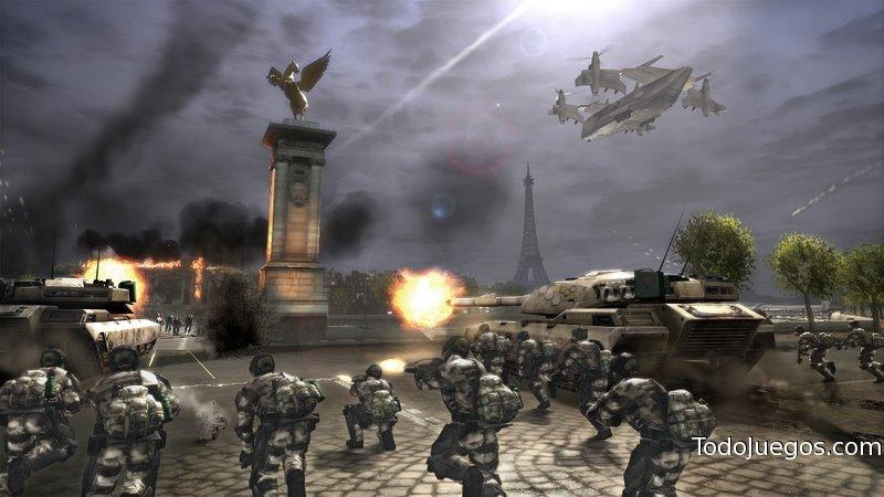 Tom Clancy S Endwar Juego Xbox 360 Ps3 Avance