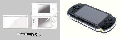 Nintendo DS Lite y PSP