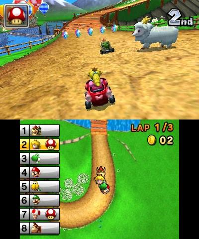 Todo Juegos Todojuegos Screen Shots Nintendo 3ds Mario Kart 7