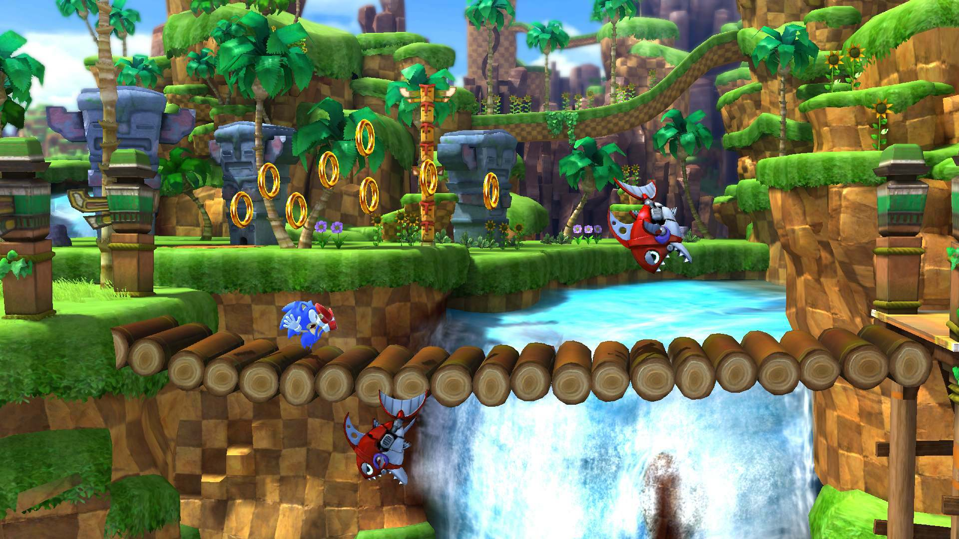 Sonic Generations Juego Xbox 360 Ps3 Avance
